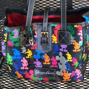 Dooney & Bourke Disney Mickey multicolor tote